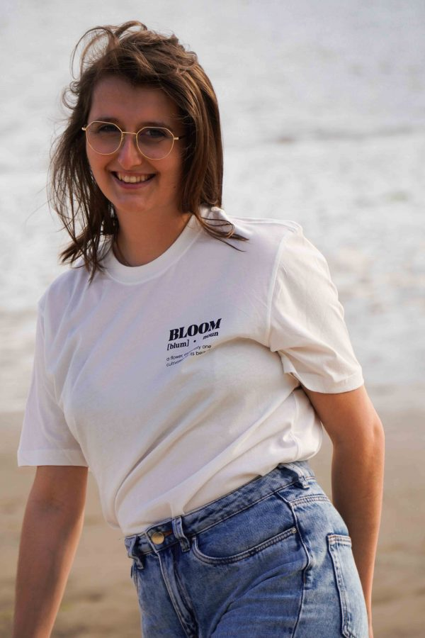 Seaside Tee-shirt Blanc - Devant
