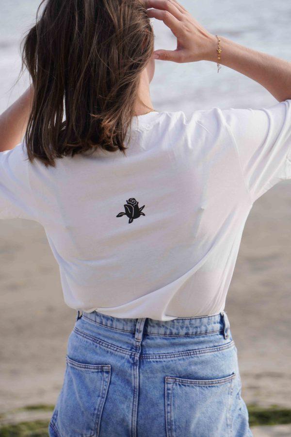 Seaside Tee-shirt Blanc - Arrière